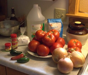 Ingredients For Chili Sauce